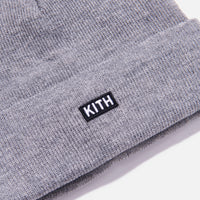 Kith Kids Baby Classic Beanie - Heather Grey Thumbnail 3