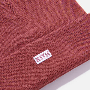 Kith Kids Classic Logo Beanie - Red Image 3