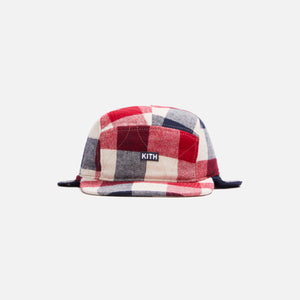 Kith Kids Plaid Earflap Hat - Turtledove / Multi Image 1