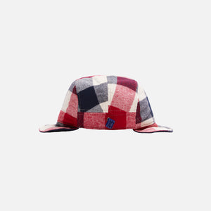Kith Kids Plaid Earflap Hat - Turtledove / Multi Image 3