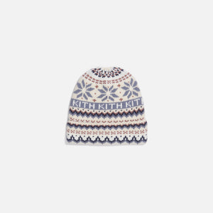 Kith Kids Fairisle Beanie - Turtledove