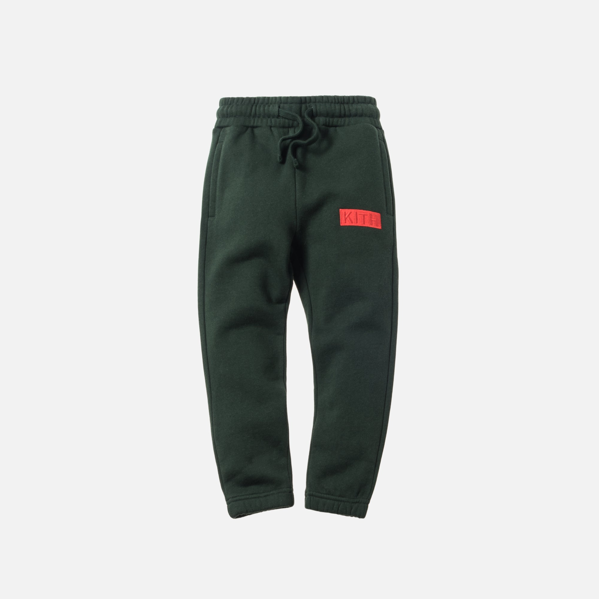 Kith Kids Williams Sweatpant - Forest Green