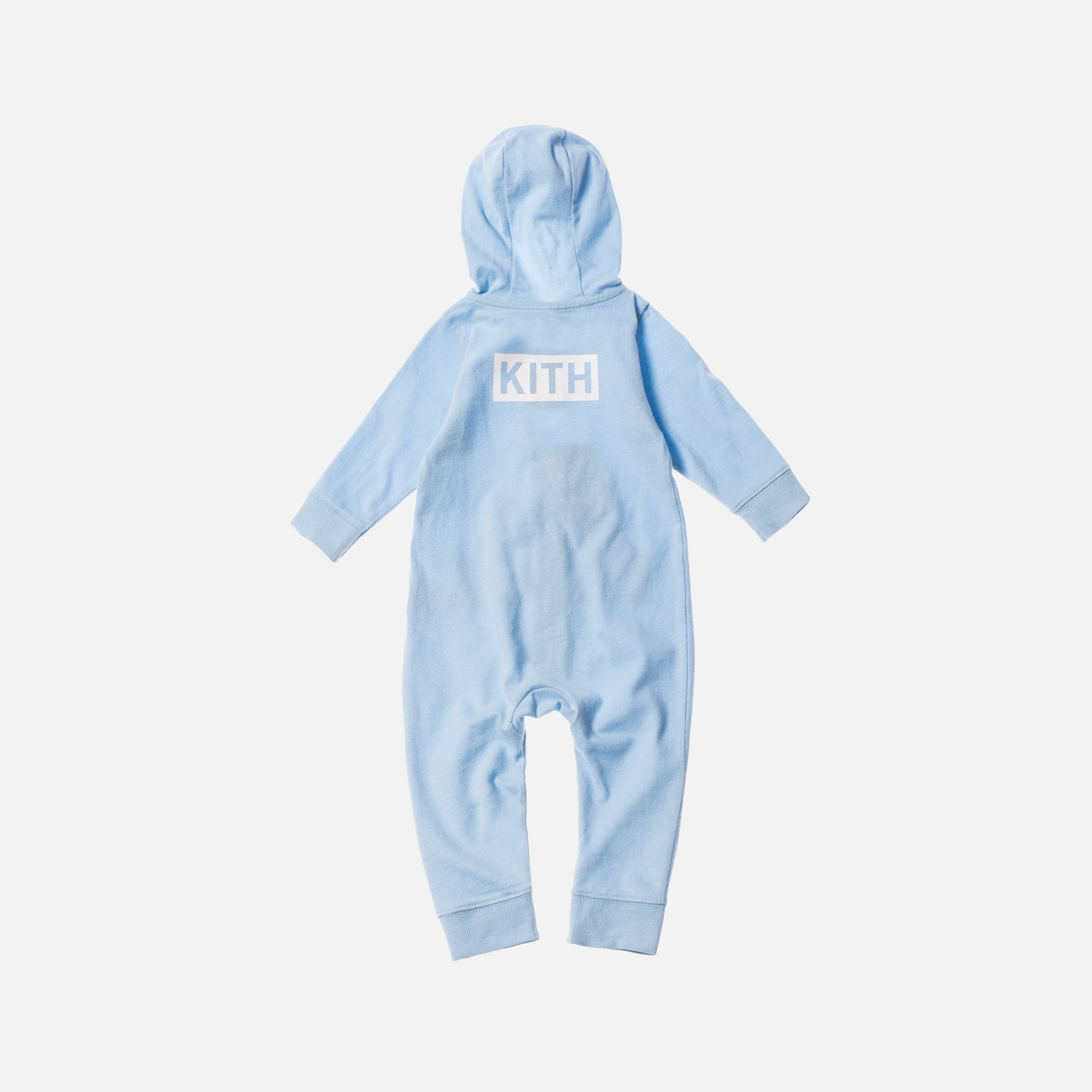 Kith Kids Classic Logo Coverall - Baby Blue