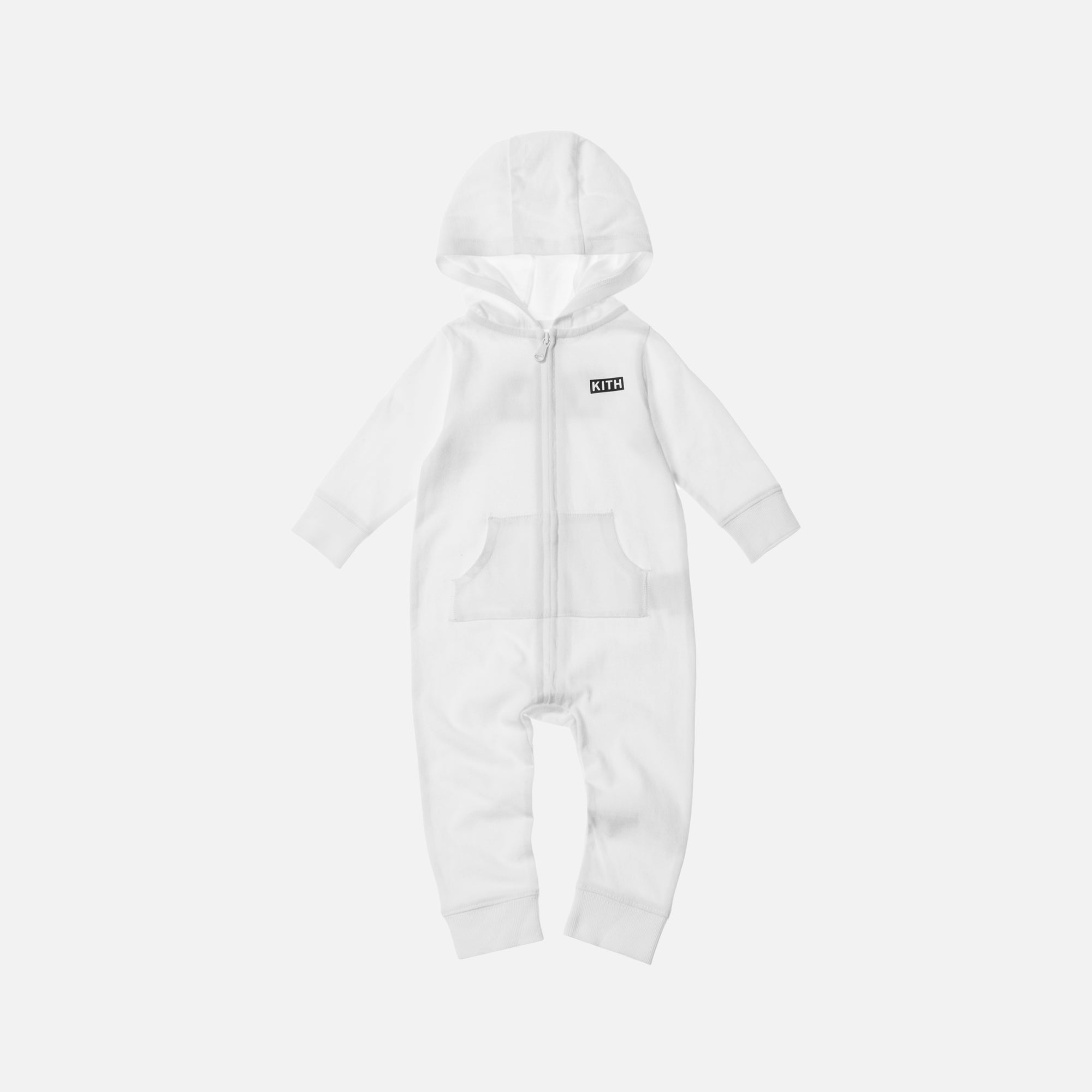 Kith Kids Classic Logo Coverall - White
