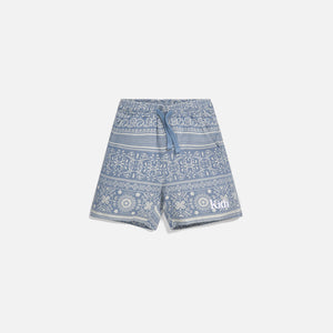 Kith Kids Teddy Short - Light Wash Image 1