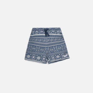 Kith Kids Baby Teddy Short - Navy Image 1