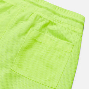 Kith Kids Jules Mesh Shorts - Washed Citron