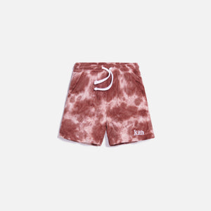 Kith Kids Tie Dye Short - Mauve / Multi