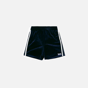Kith Kids Velour Track Shorts - Shark