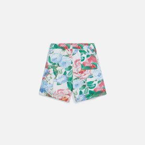 Kith Kids Floral Shorts - Tofu Multi