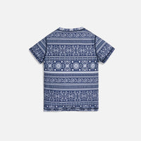 Kith Kids Parker Swim Tee - Navy / Multi Thumbnail 1