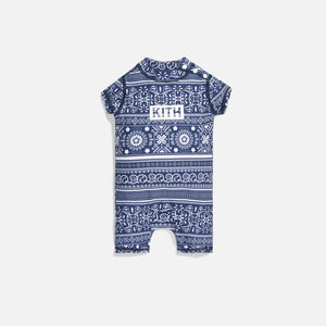 Kith Kids Baby Parker Swim Coverall - Navy / Multi Image 1