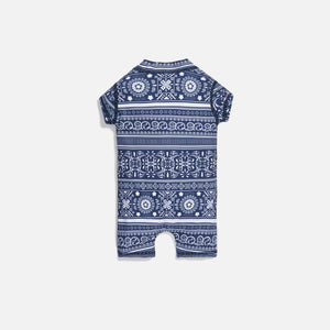 Kith Kids Baby Parker Swim Coverall - Navy / Multi Image 2