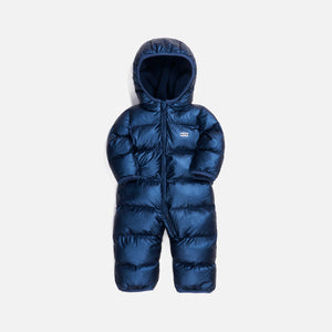 Kith Kids Baby Puffer Coverall - Navy