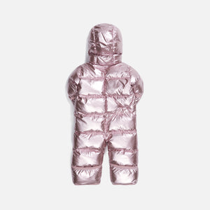 Kith Kids Baby Puffer Coverall - Mauve