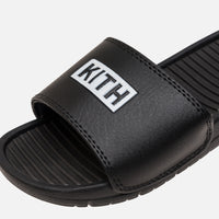 Kith Kids Slides - Black Thumbnail 7