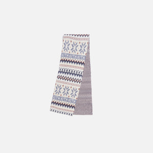 Kith Kids Fairisle Scarf - Turtledove