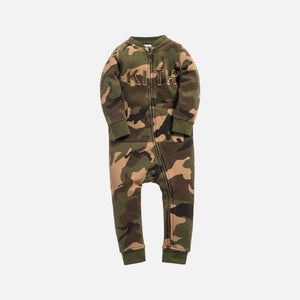 Kith Kids Toddlers Crew Coverall - Woodland Camo