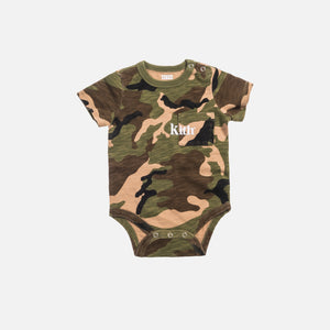 Kith Kids Toddlers Quinn Onesie - Woodland Camo Image 1