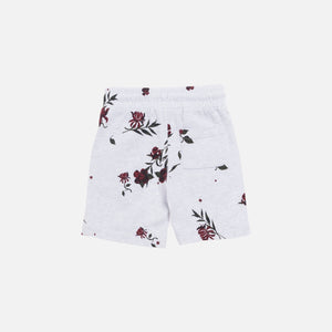 Kith Kids Floral Short - Heather Grey