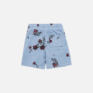 Kith Kids Toddlers Floral Short - Ashley Blue
