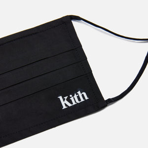 Kith Serif Washable Face Mask - Black