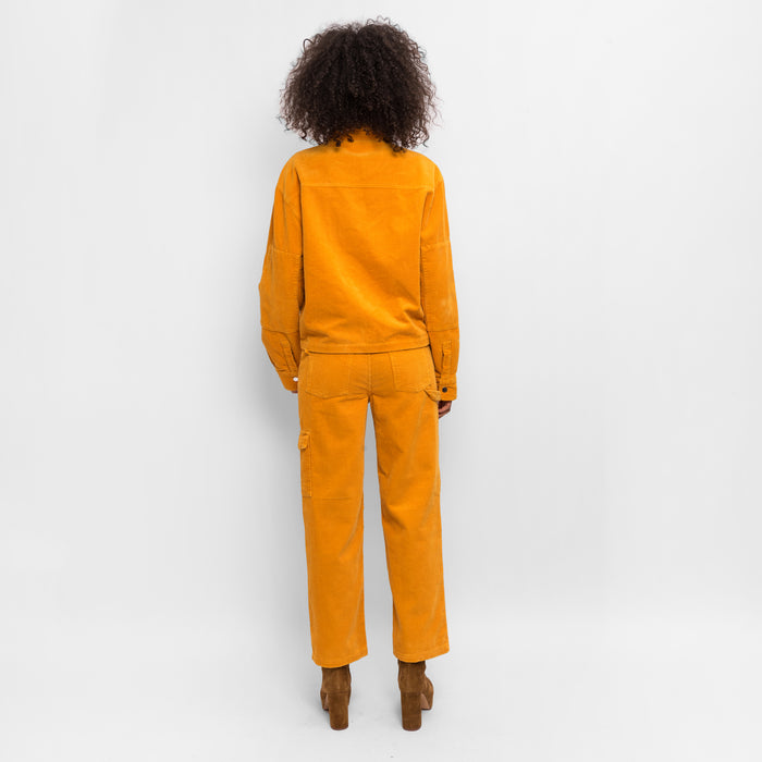 Kith Women Maya Corduroy Jacket - Golden Yellow