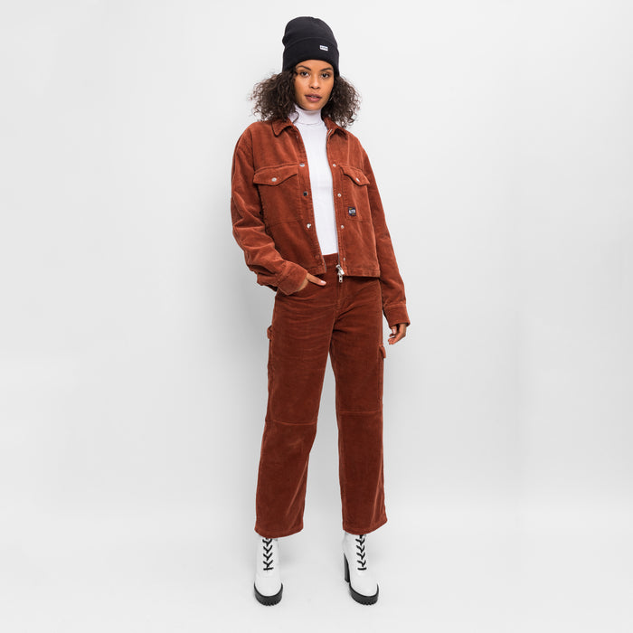 Kith Women Maya Corduroy Jacket - Burnt Orange