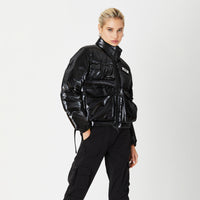 Kith Women Vicky Puffer Jacket - Black Thumbnail 1