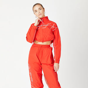 Kith Women Sport Jacket - Fiery Red