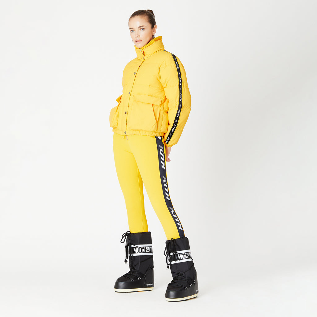Kith Women Riley Puffer Jacket - Yellow-look