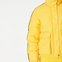 Kith Women Riley Puffer Jacket - Yellow Thumbnail 1