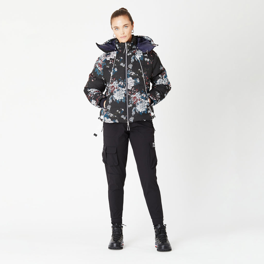 Kith Women Fleur Puffer Jacket - Multi-look