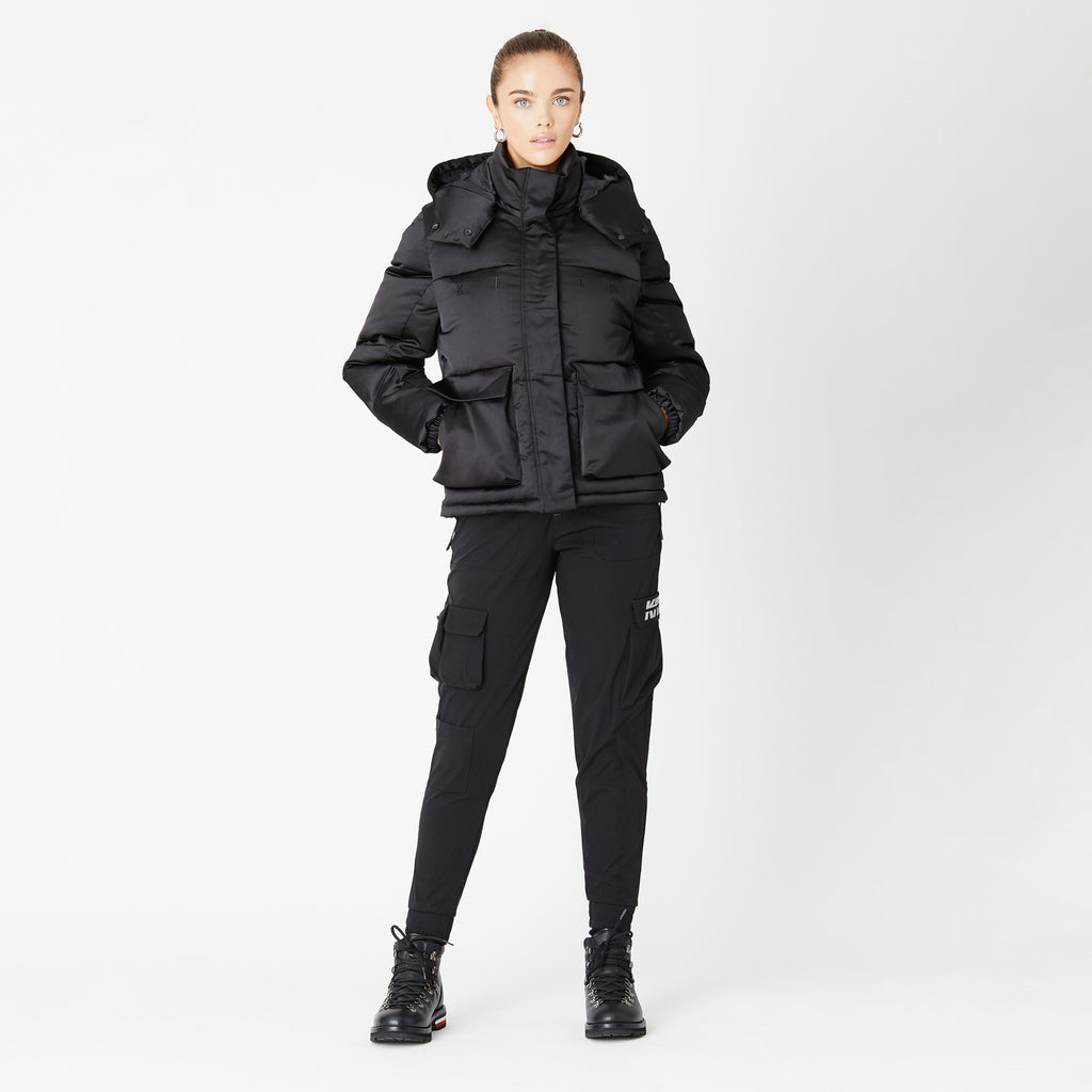 Kith Women Carmen Convertible Puffer -  Black-look