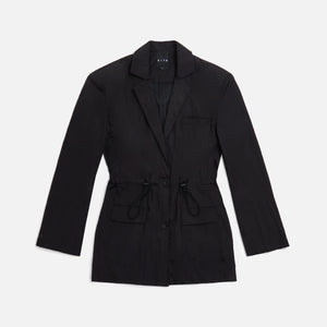 Kith Women Jillian Nylon Blazer - Black Image 1