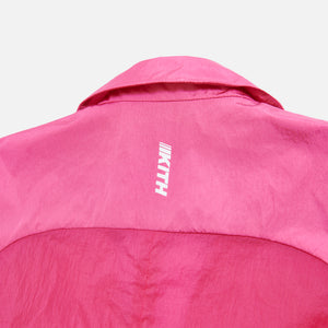 Kith Women Jillian Nylon Blazer - Shocking Pink Image 3
