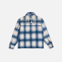 Kith Women Fawn Flannel Jacket - Blue Multi Thumbnail 2