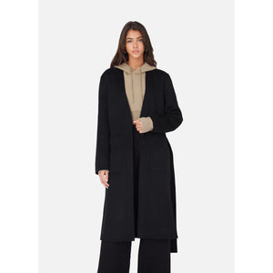 Kith Women Danielle Overcoat - Black Image 3