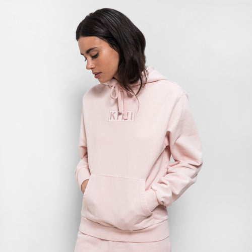 Kith Baxter Hoodie - Baby Pink