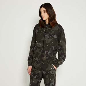 Kith Women Camo Leigh Hoodie - Midnight Cookie Camo
