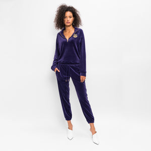 Kith Women Ali Half-Zip - Purple