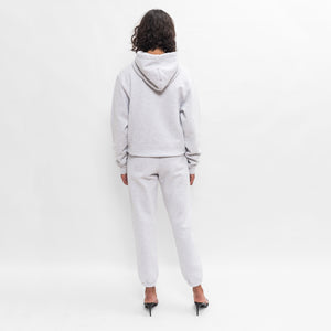 Kith Women Collegiate Hoodie - Light Heather Grey