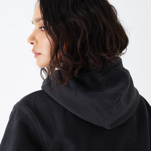 Kith Women Jane Hoodie - Washed Black Image 4