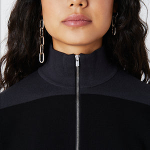 Kith Women Harper Half-Zip - Black