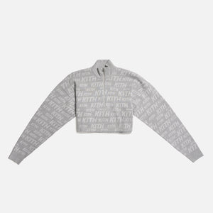 Kith Women Harper Half-Zip - Heather Grey