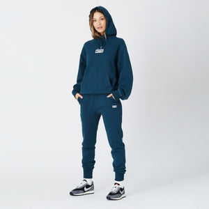 Kith Women Jane Hoodie - Night Sea Image 2