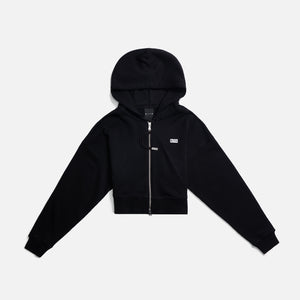 Kith Women Fallon Full Zip Hoodie - Black