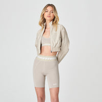 Kith Women Danica Full Zip Jacket - Nude Thumbnail 1