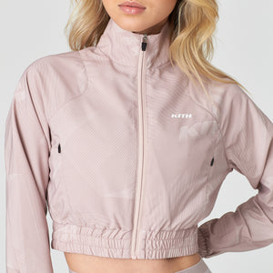 Kith Women Danica Full Zip Jacket - Blush