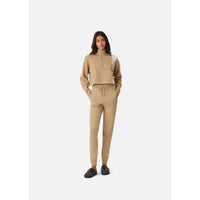 Kith Women Harper Half Zip - Tan Thumbnail 4